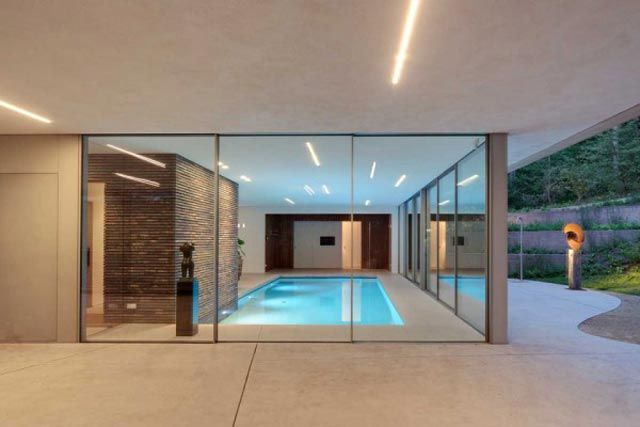 Dune villa hilberinkbosch architects indoor swimming pool home decorating trends homedit