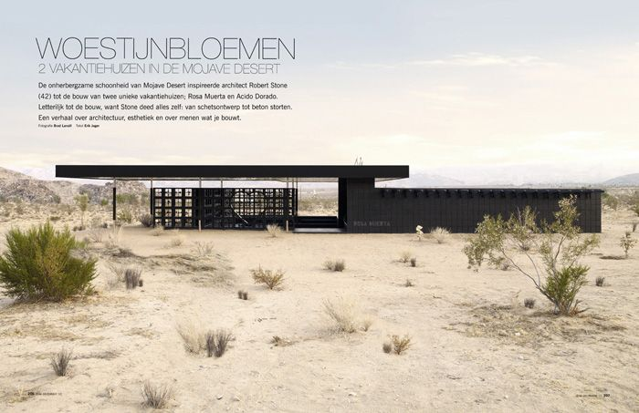 Acido Dorado, That Dazzling Gold Colored Desert Home Created By Architect  Robert Stone Has