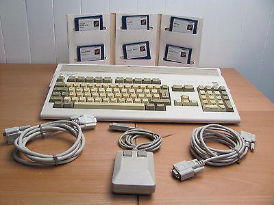 Original Commodore A1200 - Amiga Computer Mouse Software Cables