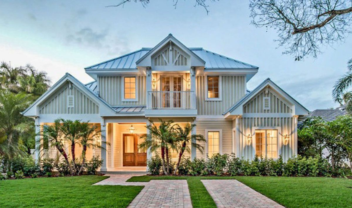 Plan 66331we Gorgeous Florida Home Plan In 2021 Florida House Plans Beach House Plans Beach Style House Plans
