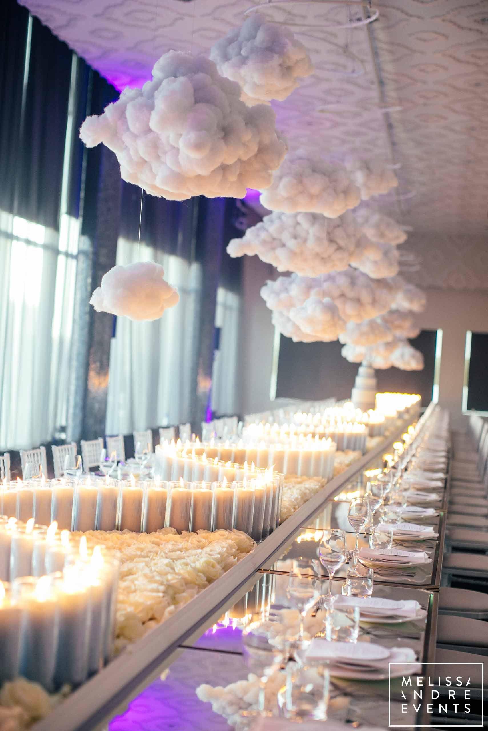 Melissa Andre Events Custom Design Tablescape Cloud White