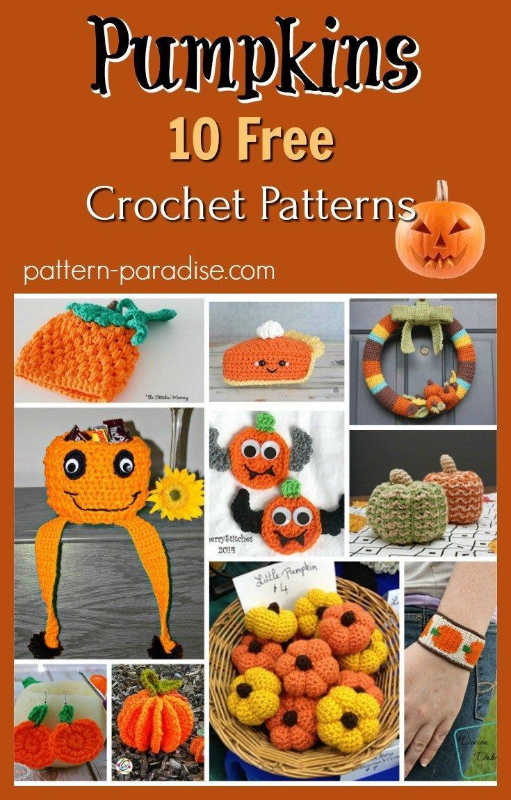 Crochet Finds - Let\'s Visit the Pumpkin Patch   Feiertage und Häkeln