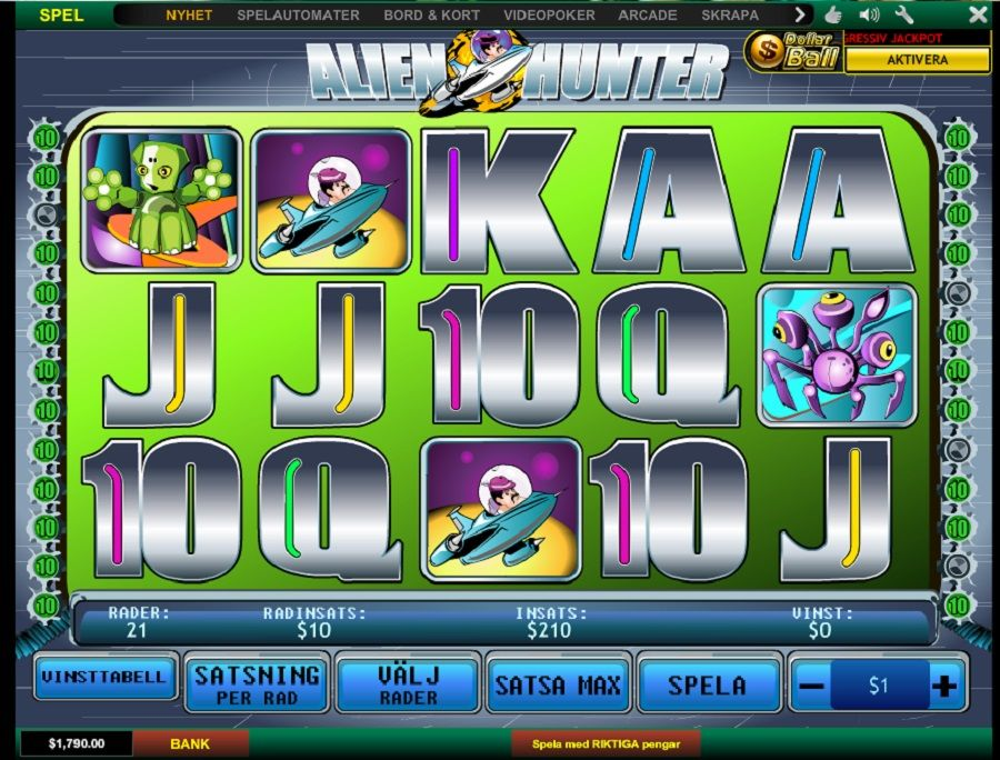 Find casino slot maskiner gratis