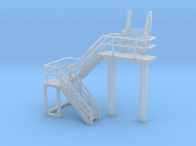 N Scale Train Inspection Platform by Ngineer