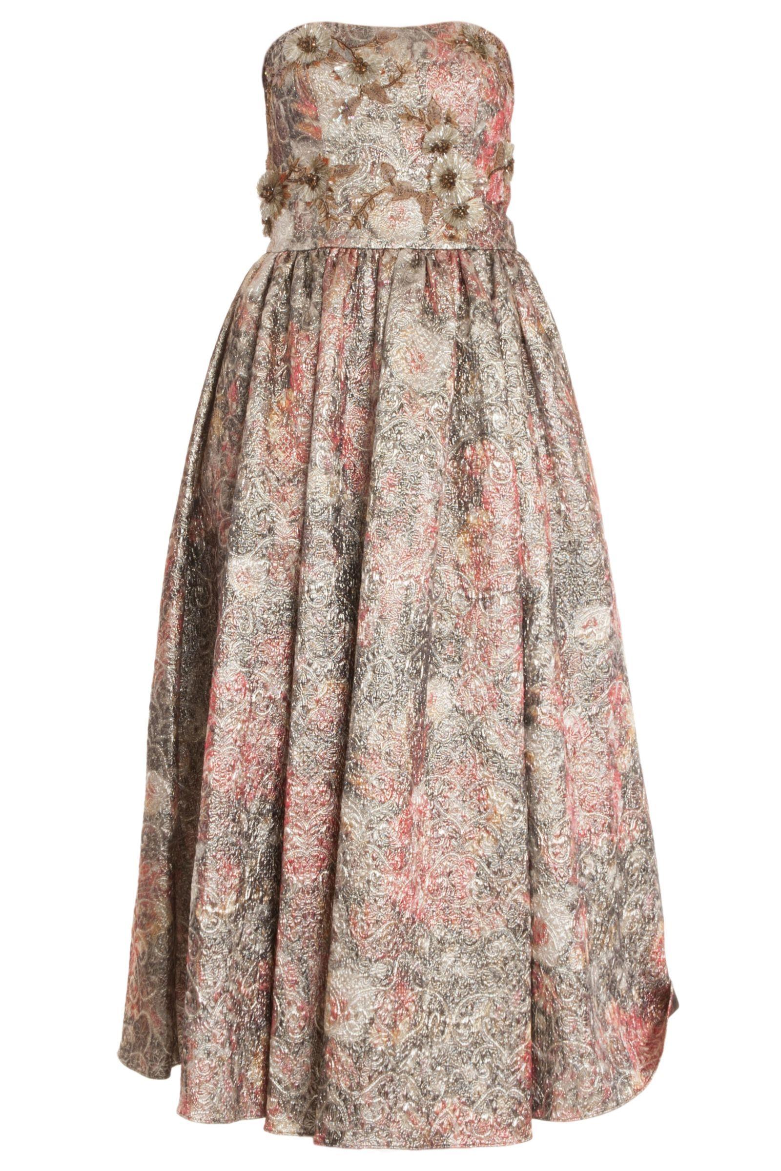 40 Dresses to Wear to a Springtime Wedding | Brocade dresses and ...