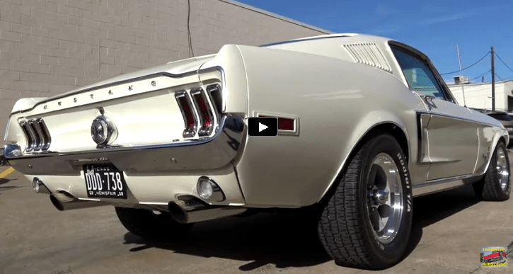 Rowdy 1968 Ford Mustang With Built 302 & 4-speed | Classic interior ...
