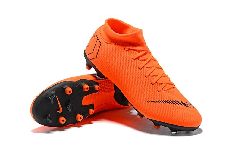 cheap for discount f71b4 c0da7 Nike Mercurial Superfly 6 Elite AG-Pro Soccer Cleats Orange Black