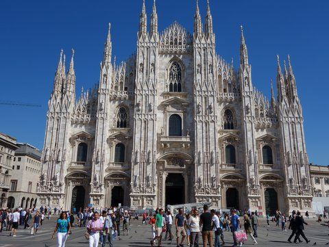 duomo Milan: Chocolate Shoes and Other Delights