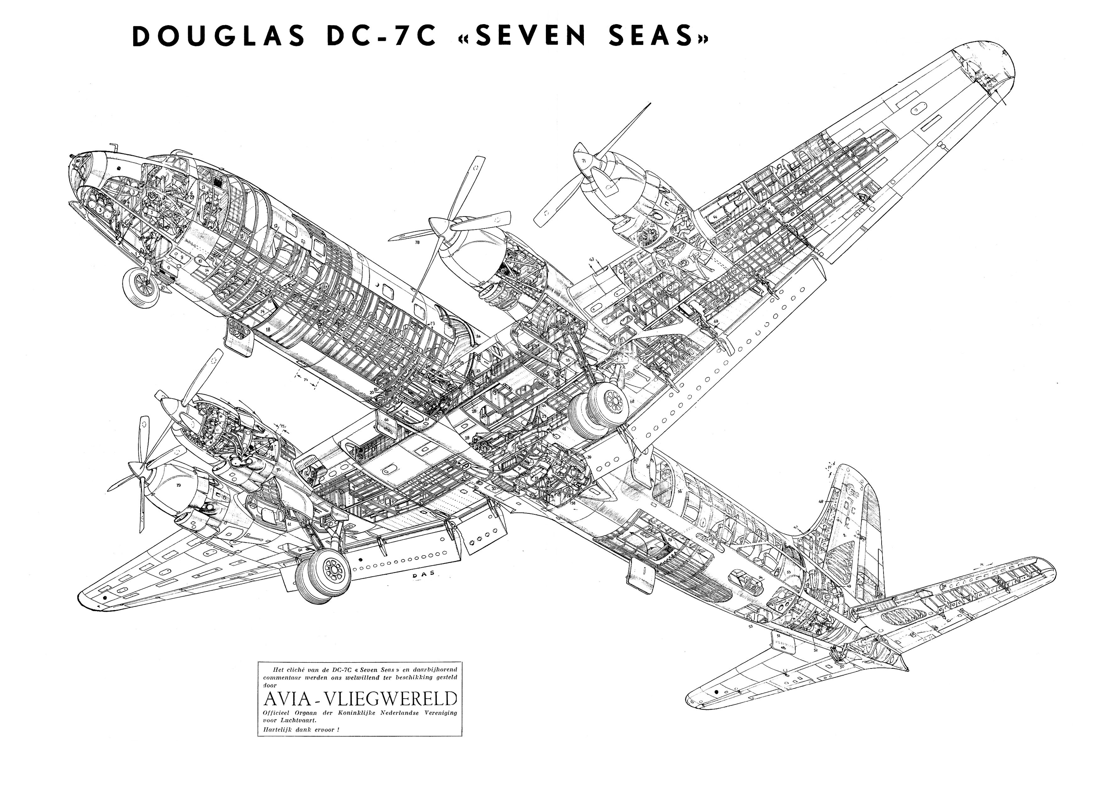 Douglas Dc 7c