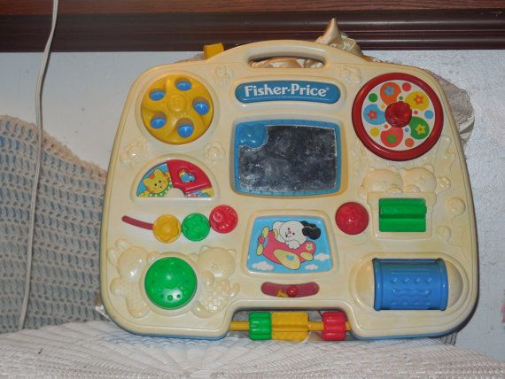Busy Box Crib Toy Vintage Fisher Price Vintage Toys Vintage Baby