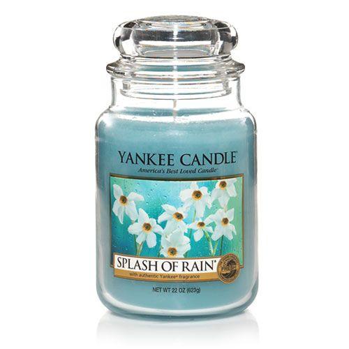 Yankee Candle Splash of Rain Large Jar