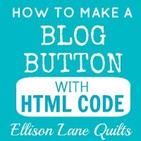 Tutorial on how to make a #blog button with HTML code.