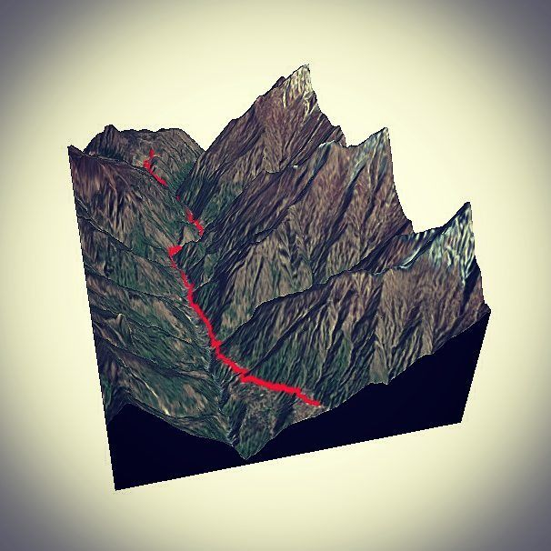 Amazing #3D view of our upcoming #expedition in #Nepal  from #Lukla Airport to #Ngozumpa Glacier thanks to Nicetrails ! http://ift.tt/1SEGpOP  #Rendering #Mountains #3D #Trek #Nextlevel #Virtual #Virtualreality #VR #Computer #Art #Science #3DPrinting #Science @scienceinthewild by mistaben4