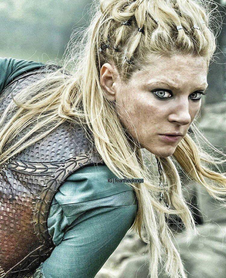 Lagertha Vikings Viking Frisur Wikinger Frisuren Lagertha