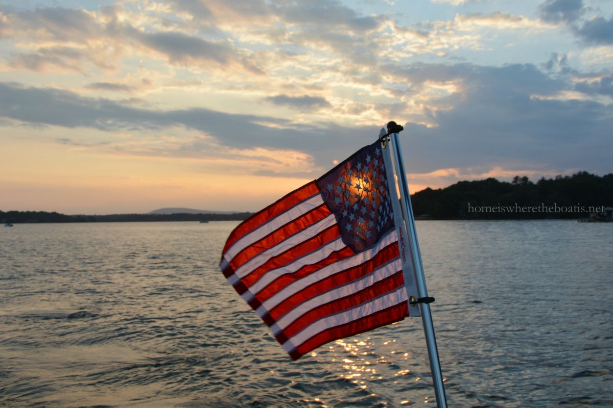 Happy Independence Day from Our Boat to Yours!