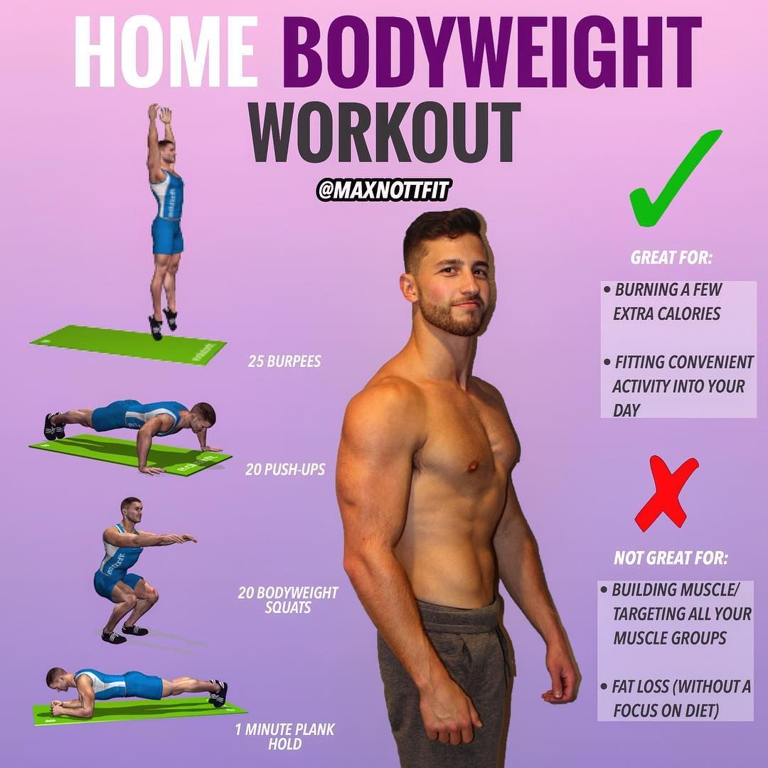 Complete Workout Using The Simplicity Of Only Your