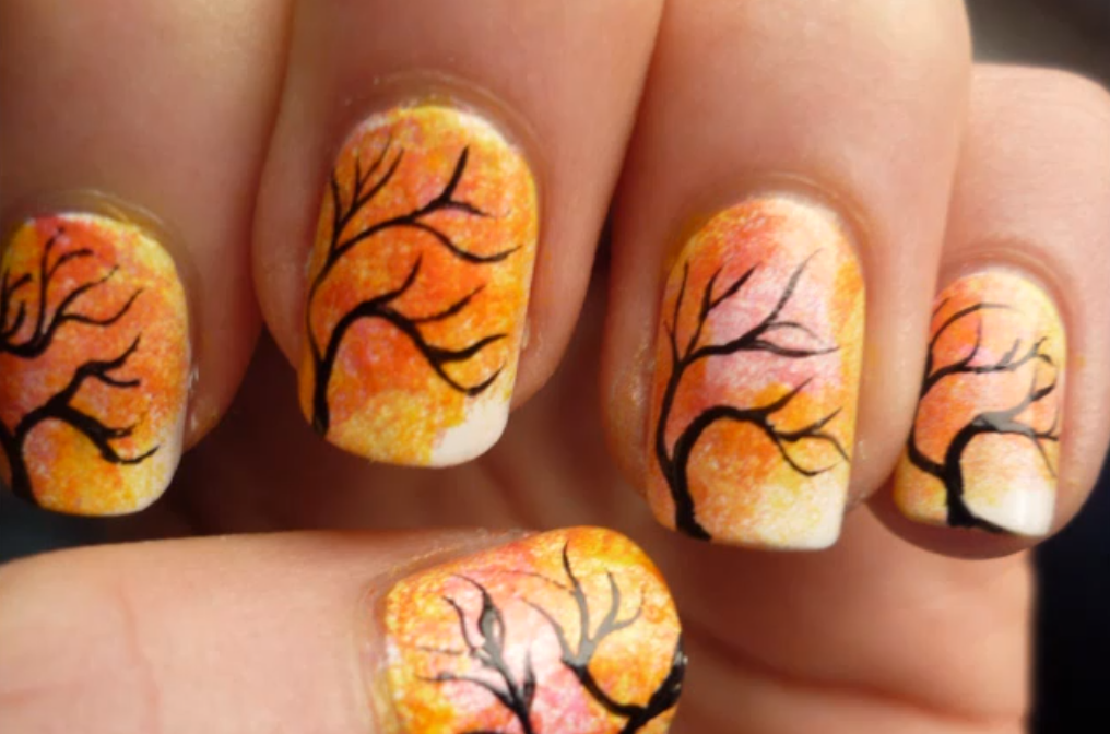Thanksgiving Nail Art Check Out Www Mynailpolishobsession Com For