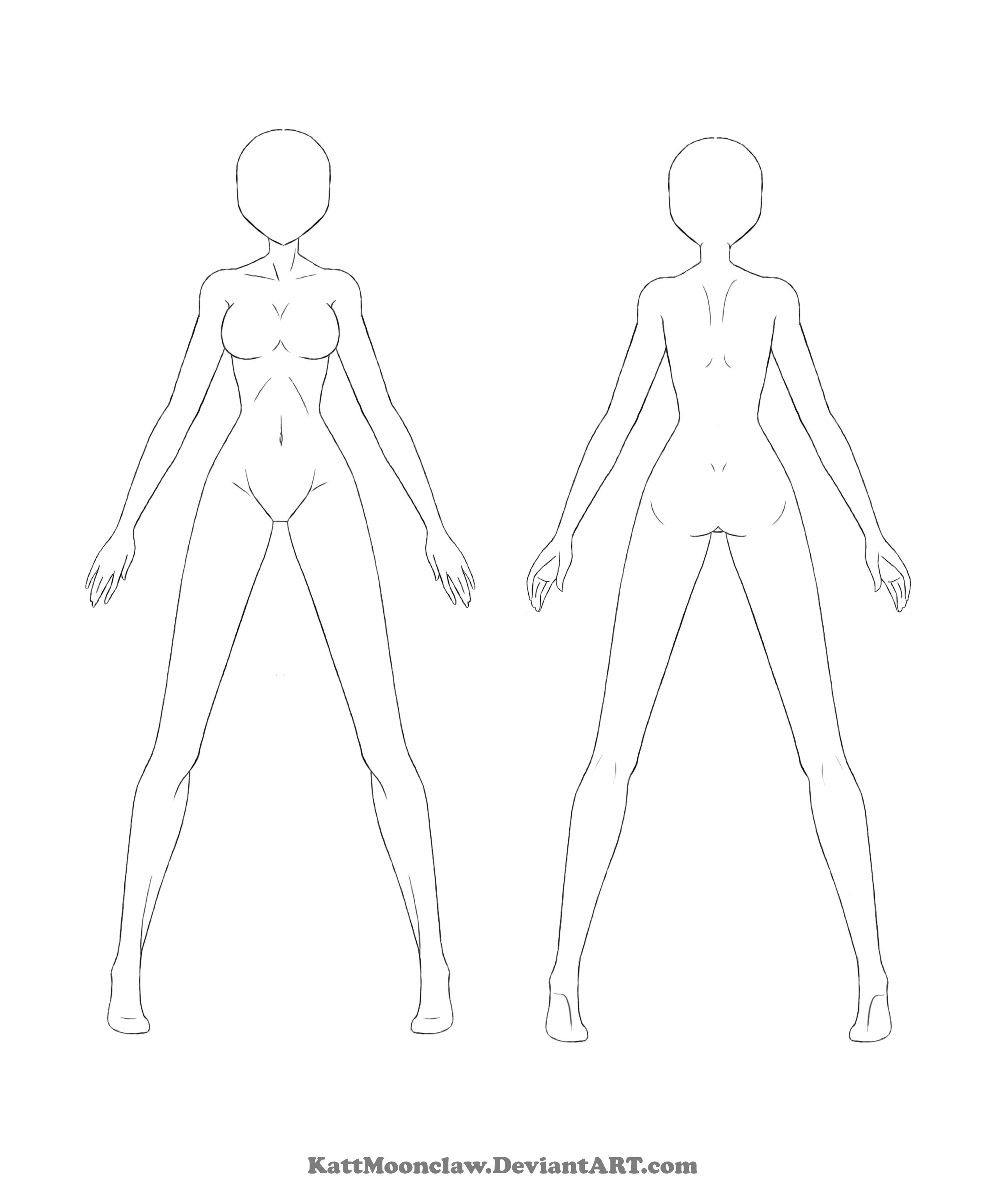 reference template 2 by thesilvamord clay doll armature base for