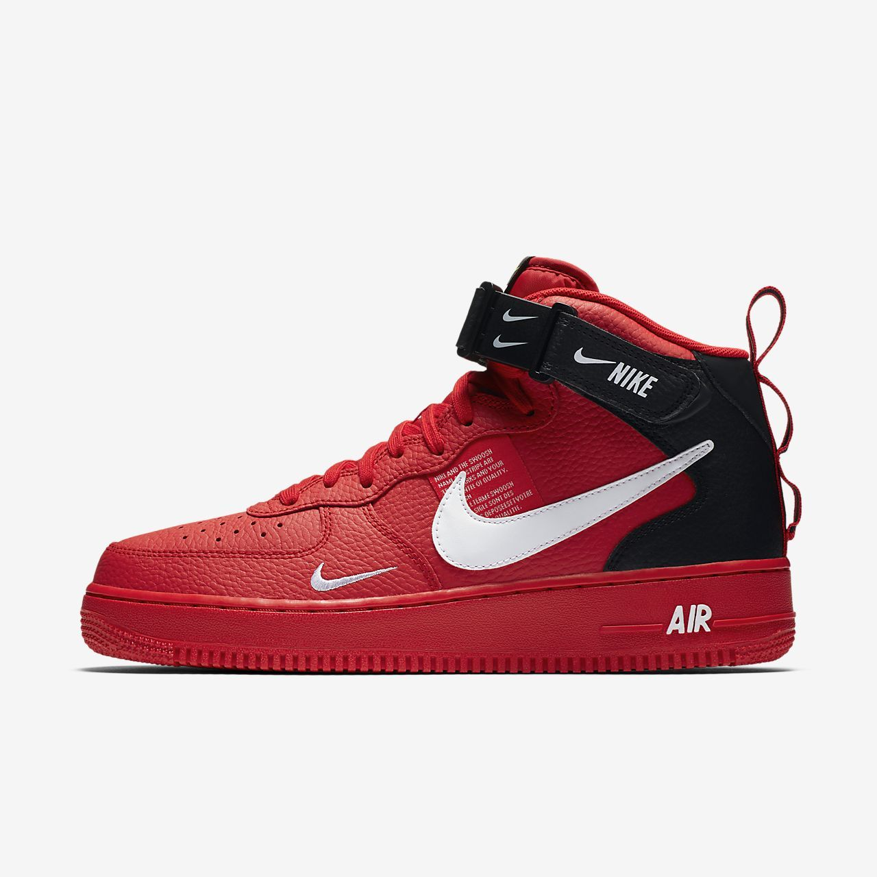 reputable site cc706 798a0 Nike Air Force 1 07 Mid LV8 Mens Shoe
