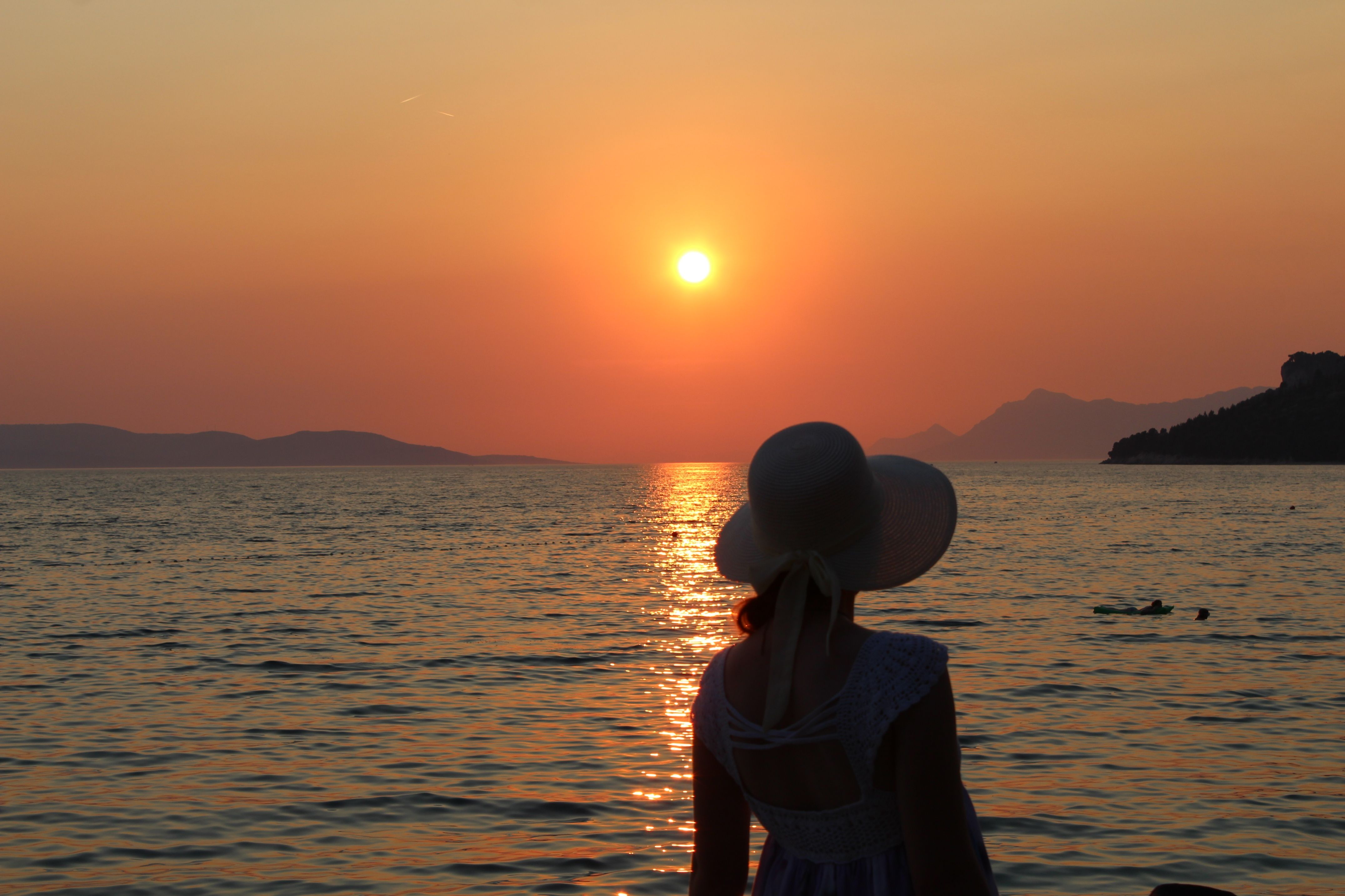 #beautiful #sunset #summer2015 #croatia #adriaticsea #tucepi  via @hasanovicemina