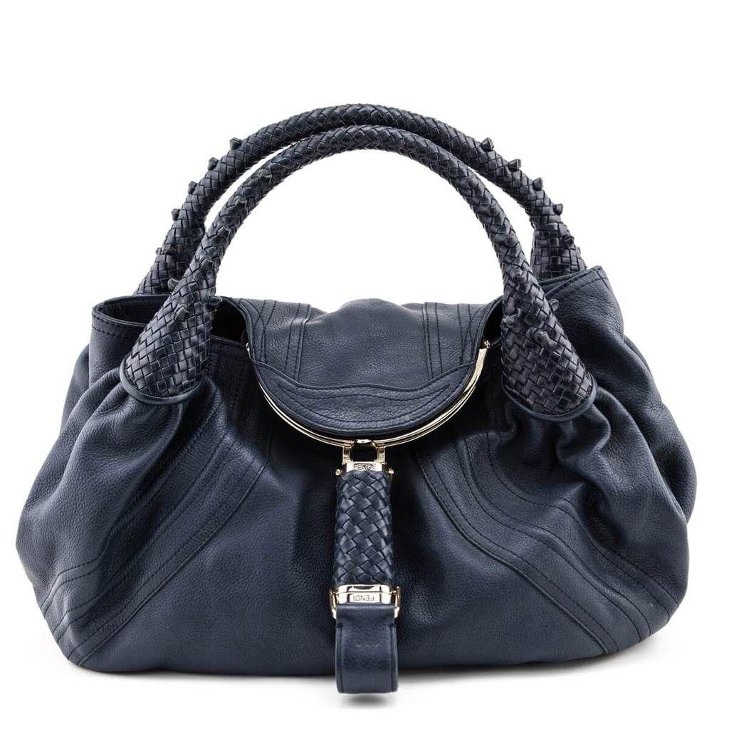 Fendi Petrol Leather Spy Bag Secondhand Fendi Handbags And Wallets Bags Fendi Spy Bag Fendi Handbag
