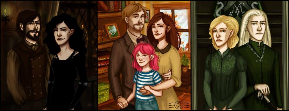 The Tale Of Three Sisters By Aidinera On Deviantart Harry Potter Comics Tonks Harry Potter Harry Potter Fan Art