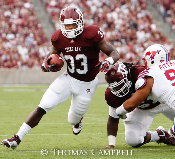 Michael S First Touchdown Run Texas Aggies Football Aggie Football Texas Aggies