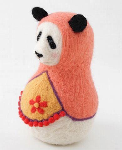 PECORA・DOLLY パンダ マトリョーシカ