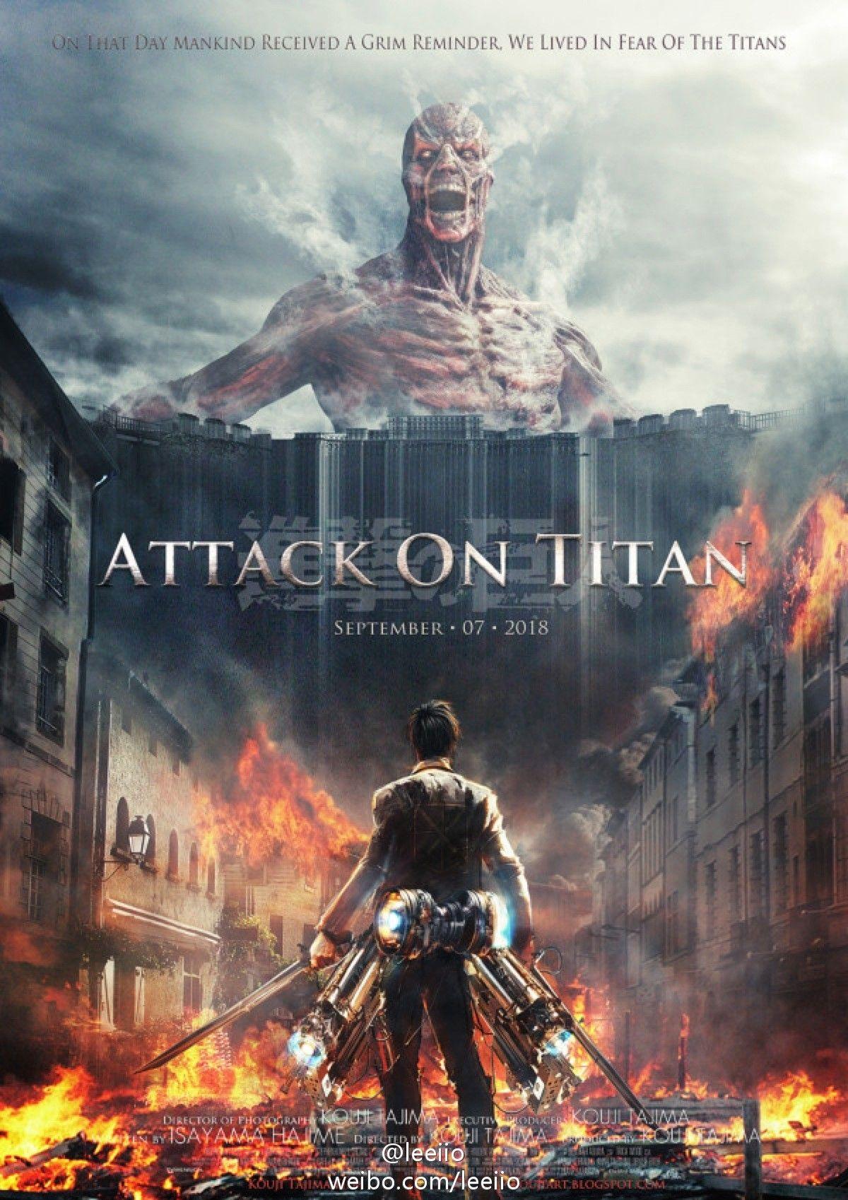 Shingeki no Kyojin Attack on Titan fanmade movie