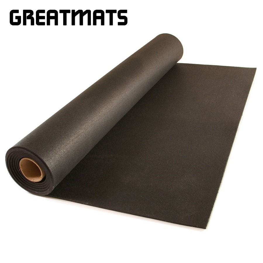 Wholesale Durable Gym Industrial Rubber Mats Flooring Rolls Rubber Flooring Rolled Rubber Flooring Gym Flooring Rubber