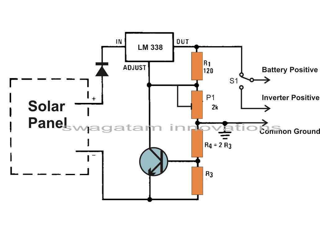 solar panel voltage regulator circuit homemade circuit projectssolar panel voltage regulator circuit homemade circuit projects