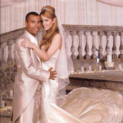 Ashley and Cheryl were married for four years