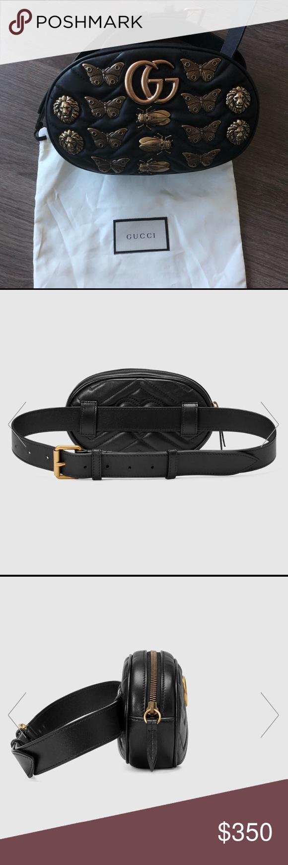 8337f9478d11 Gucci Fanny pack Gucci Fanny pack- GG Marmont matelassé leather belt bag  Gucci Bags Backpacks