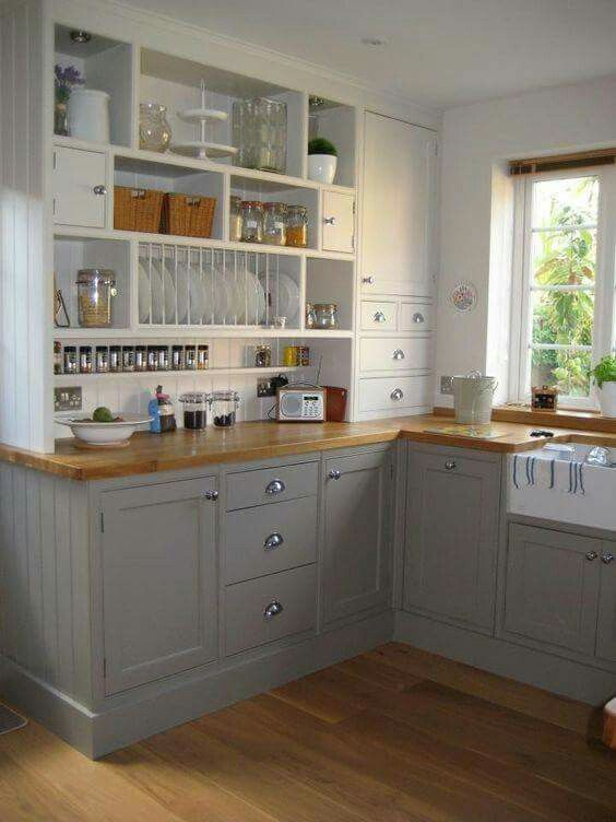 Design Für Kleine Küche, Ideen Für Die Küche, Grau Küchen, Bauernküchen, Kleine  Küchen, Massivholzküchen, Küche Klein, Bauernküchen, Küchen