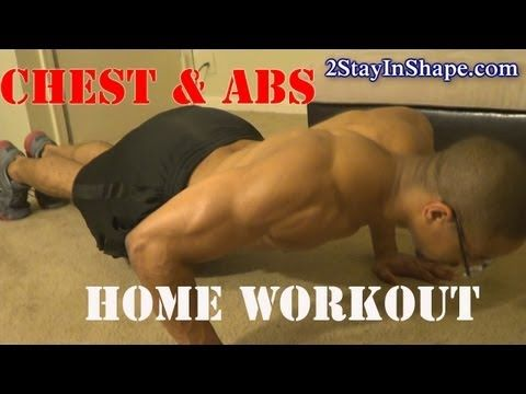 home core six pack abs  chest workout  how to get