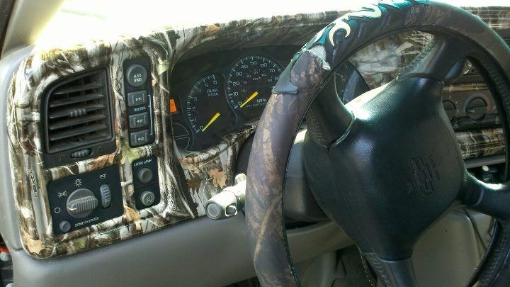 toyota tundra truck interior customized in camo hydrographic design by alexander 39 s general store