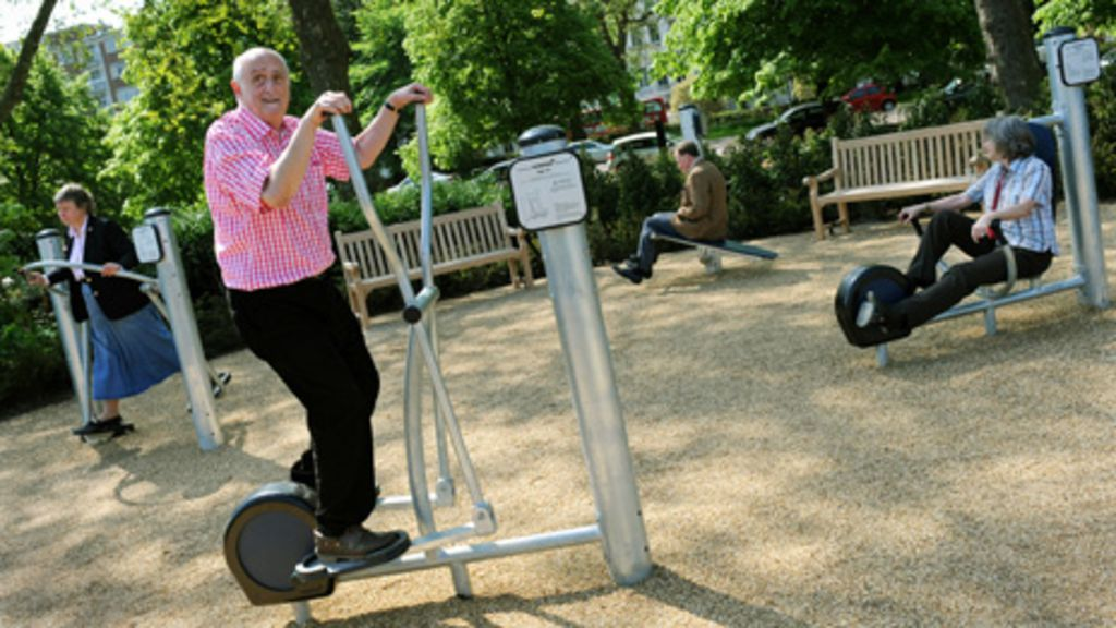The rise of the adult playground Senior fitness