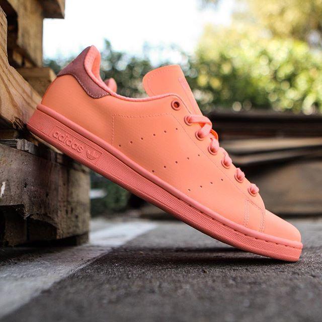 Adidas Uomini Corte Vantage Adicolor In Arancione E Sole Raggiante '