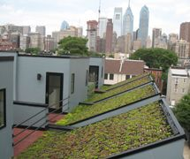 Office Of Sustainability Department Green Roof Installation Green Roof Building Green Roof