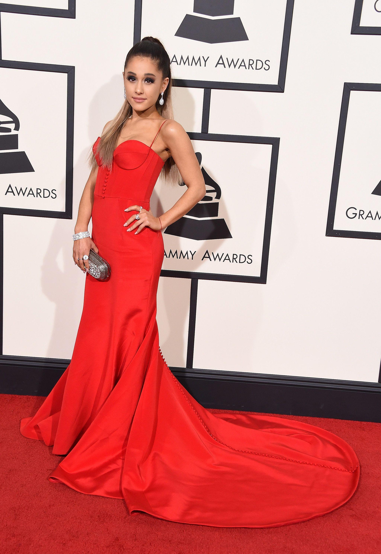 7ec141fcb23 Ariana Grande wearing Romona Kaveza and Giuseppe Zanotti heels