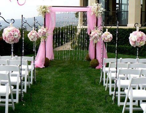 Boules de fleur: une décoration de mariage a la hauteur | Décoration ...
