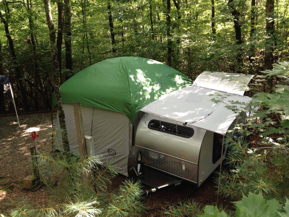 10x10 Side Mount Screen Room Tent By Pahaque Camper