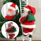 Electric Music Santa Claus Toy Automatically Climbing Ladder / Driving Xmas Gift #Holiday #leiterdekoweihnachten