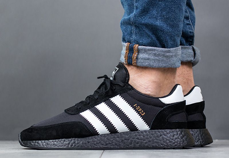 c2f7e3e830a8 Now Available - adidas Iniki I-5923 Black Boost  Adidas,  NewSneakers,   Sneakers