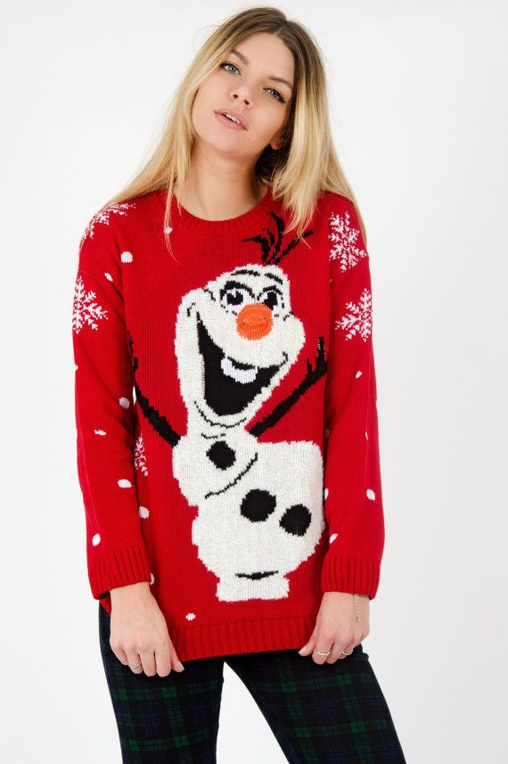 Kersttrui Dames Olaf.24 Amazing Christmas Jumpers You Simply Must Have