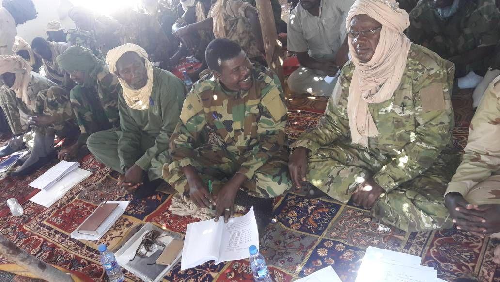 خطاب رئيس تجمع قوي تحرير السودان الي الشعب