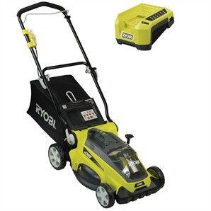 Ryobi 36v Lawn Mower Kit Rlm36 Bunnings Warehouse