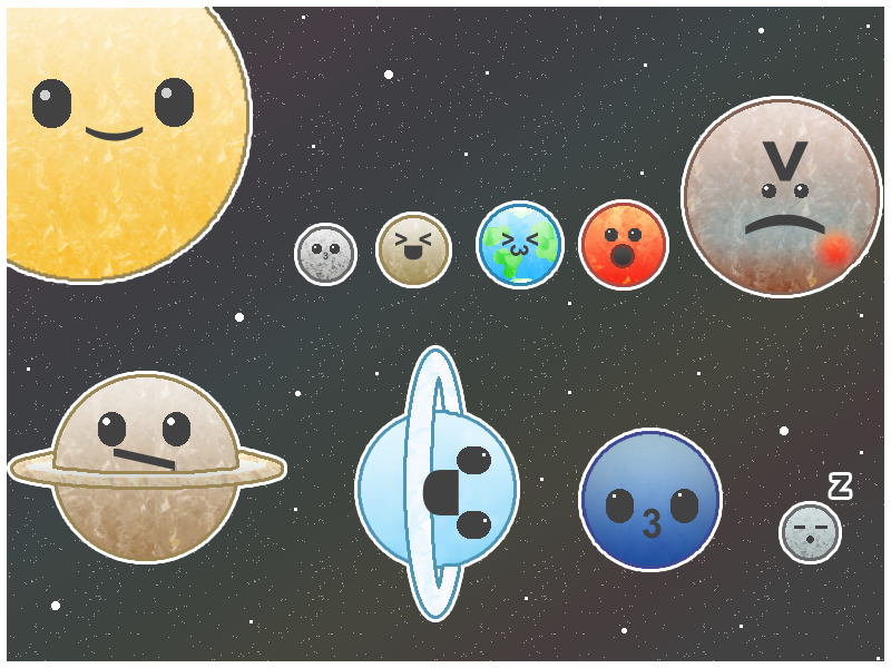 cute solar system sign - photo #10