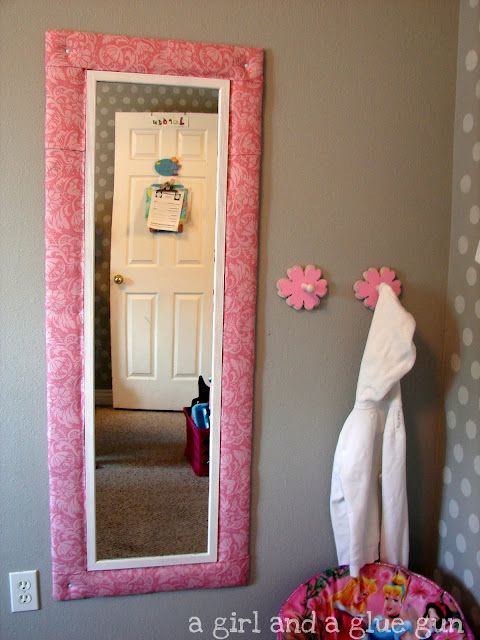 Remarkable Diy Mirror And Padded Frame Great Fro Edens New Big Girl Download Free Architecture Designs Philgrimeyleaguecom
