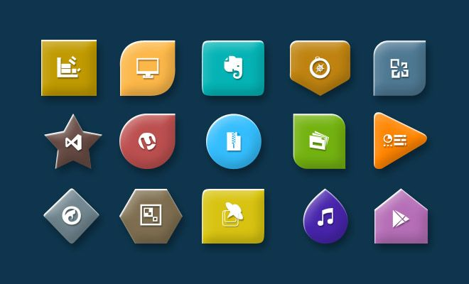 Shape Icons - Web Design Hood